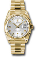 Rolex Watches: Day-Date President Yellow Gold - Domed Bezel - President  118208 sdp