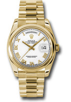Rolex Watches: Day-Date President Yellow Gold - Domed Bezel - President  118208 wrp