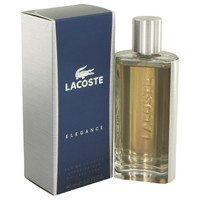 Lacoste Elegance by Lacoste Eau De Toilette Spray 3 oz