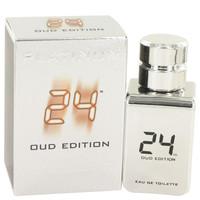 24 Platinum Oud Edition by ScentStory Eau De Toilette Concentree Spray 1.7 oz