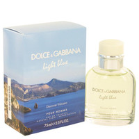 Light Blue Discover Vulcano by Dolce & Gabbana Eau De Toilette Spray 2.5 oz