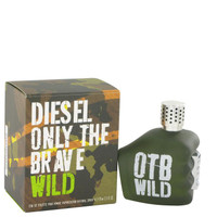 Only The Brave Wild by Diesel Eau De Toilette Spray 2.5 oz