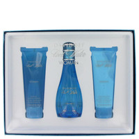 Gift Set -- 3.4 oz Eau De Toilette Spray + 2.5 oz Body Lotion + 2.5 oz Shower Breeze