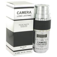 CAMERA LONG LASTING by Max Deville Eau De Toilette Spray 3.4 oz