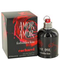 Amor Amor Forbidden Kiss by Cacharel Eau De Toilette Spray 3.4 oz