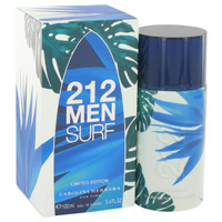 212 Surf by Carolina Herrera Eau De Toilette Spray (Limited Edition 2014) 3.4 oz