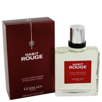 HABIT ROUGE by Guerlain After Shave 3.4 oz