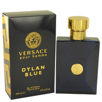 Versace Pour Homme Dylan Blue by Versace Eau De Toilette Spray 3.4 oz