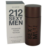 212 Sexy by Carolina Herrera Eau De Toilette Spray (Tester) 3.3 oz