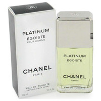 EGOISTE PLATINUM by Chanel Eau De Toilette Spray 3.4 oz