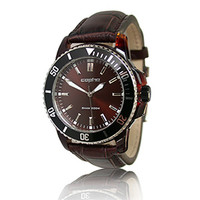 Copha  Turtle/Steel - Maroon Croco Strap