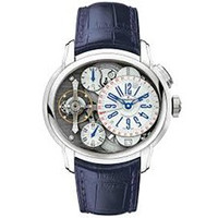 AUDEMARS PIGUET Millenary Manual Wind Skeleton Dial Platinum Men's Watch 26066PT.OO.D028CR.01