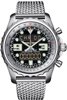Breitling Professional Chronospace Chronospace SS-Black-SS