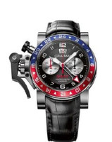 Graham Chronofighteroversize Gmt Blue& Red