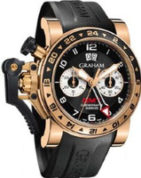 Graham Chronofighteroversize Gmtblack Gold