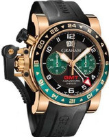 Graham Chronofighteroversize Gmtblack Brg Gold