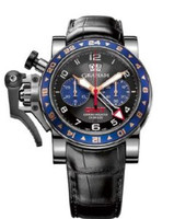 Graham Chronofighteroversize Gmt Bluesteel