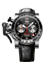 Graham Chronofighteroversize Gmtblack Steel