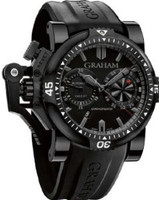 Graham Chronofighteroversize Diver deep Black