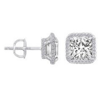 .50 Ct Diamond Stud Earrings (0.50cttw)
