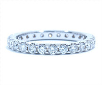 2.10 mm Diamond Ring In Platinum