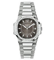 Patek Philippe Nautilus Ladies (7010G /Brown /WG)