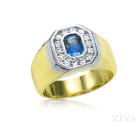 Ziva Sapphire Ring for Men
