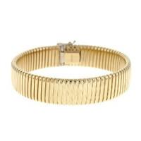 Herco Yellow Gold 13mm Bracelet 7.5?
