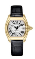 Cartier Roadster (YG/Silver/Croc Leather)