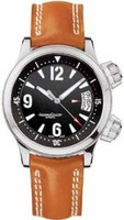 Jaeger LeCoultre Master Compressor Automatic (SS/Black/Leather)
