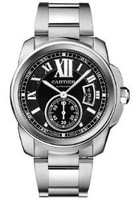 Cartier Calibre Automatic Steel Watch W7100016