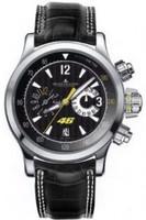 Jaeger LeCoultre Master Compressor Valentino Rossi Black Dial Chronograph Mens Watch Q175847V