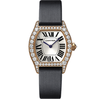Cartier Cartier Tortue Small (RG Diamonds/ Silver/Fabric )
