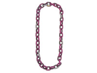 Pink Sapphire Link Chain Necklace