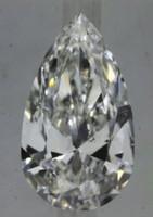 1.50 Carat F/SI1 Pear GIA Certified Diamond (VG/EX/VG)