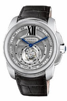 Cartier Calibre De Cartier Flying Tourbillon (WG/ Silver/