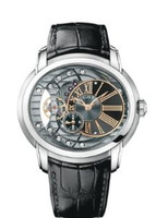Audemars Piguet Millenary Automatic Black & Anthracite Dial Watch 15350ST.OO.D002CR.01