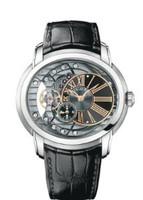 Audemars Piguet Millenary Automatic Black & Anthracite Dial Watch 15350ST.OO.D002CR.01