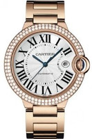 Cartier Ballon Bleu Large (RG Diamonds/Silver/ RG)