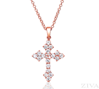 Ziva RG Diamond Cross