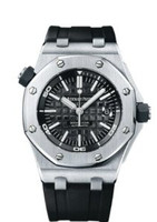 Audemars Piguet Royal Oak Offshore Diver Automatic Black Dial Watch 15703ST.OO.A002CA.01