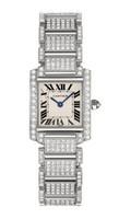 Cartier Tank Francaise Small ( WG- Diamonds/Silver /