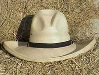 """SunBody Palm 5"""" Gus Cowboy Hat"""
