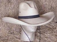 """SunBody Palm 6"""" Gus Cowboy Western Hat"""