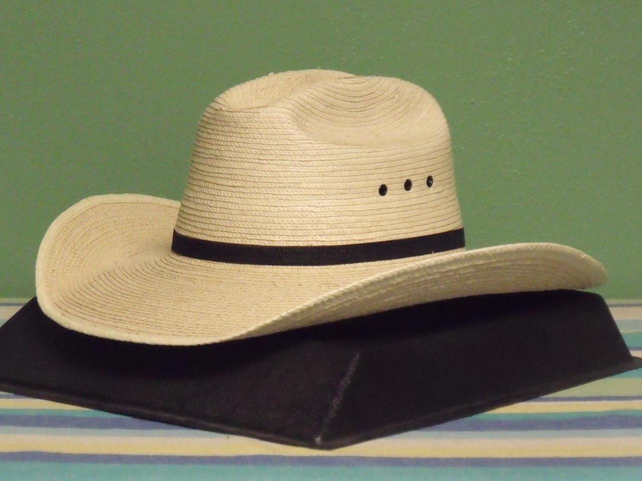 44961e2ff5c2c SunBody Palm Cattleman Cowboy Hat - One 2 mini Ranch