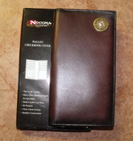 Nocona Leather 12 Gauge Rodeo Wallet/Checkbook