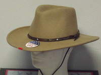Stetson Mountain View Crushable Wool Western Hat