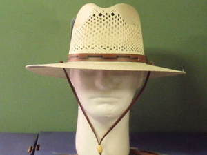 Stetson Airway Panama Outdoor Fedora Hat - One 2 mini Ranch 4f29a45c563