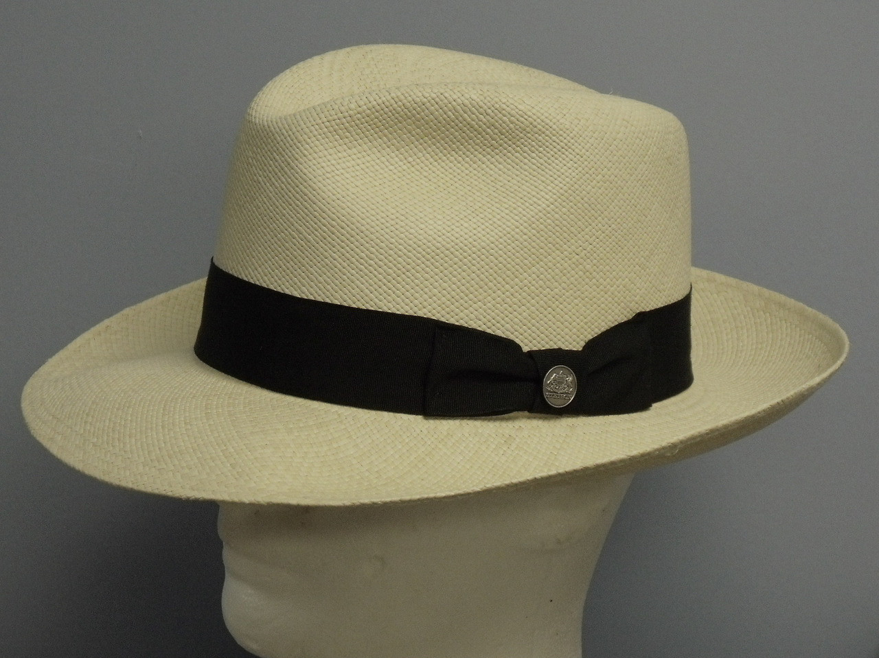 e40c4dad9c88b Stetson Centerdent Panama Straw Fedora Hat - One 2 mini Ranch