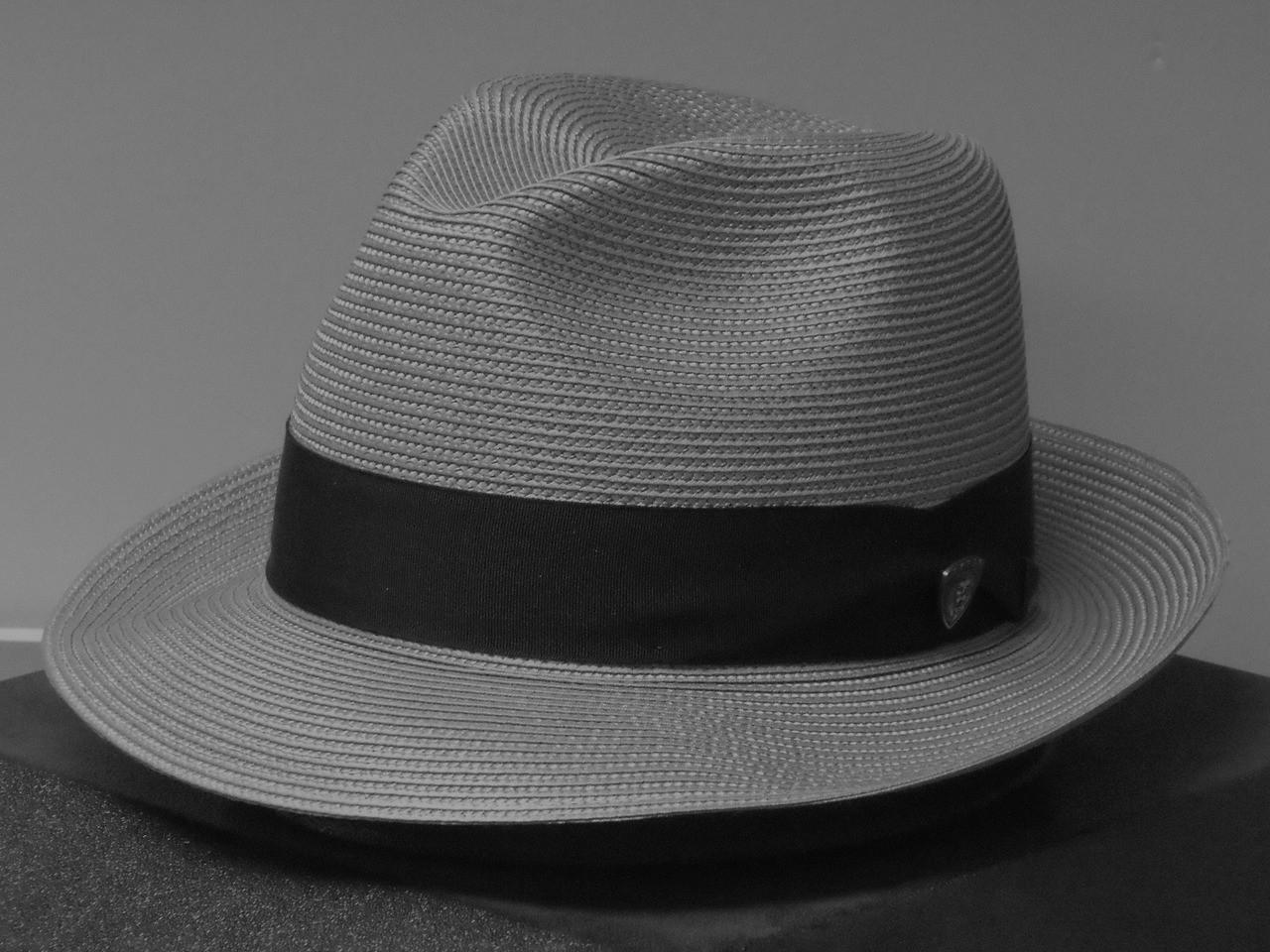 4af4be6828b9b Dobbs Rosebud Florentine Milan Straw Feddora Hat - One 2 mini Ranch